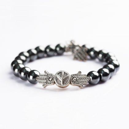 Hamsa Hand Bracelet for Evil Eye Protection