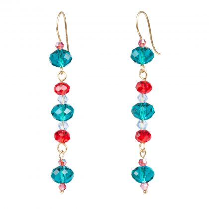 Colorful Dangles Earrings for ladies