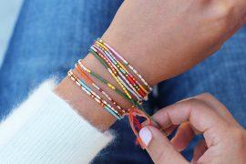 coded beads bracelets